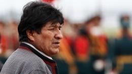 Президент Боливии прилетел вМоскву навстречу сПутиным