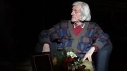 ВПетербурге скончался поэт Виктор Соснора