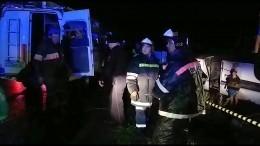 Водитель перевернувшегося вБашкирии автобуса уже привлекался занарушения ПДД