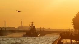 Парадное настроение: вПетербурге прошла репетиция Главного военно-морского парада