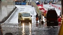 Видео: Москву накрыла гроза сградом
