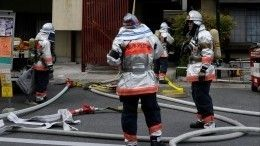 Видео: 38 человек пострадали из-за поджога аниме-студии вЯпонии