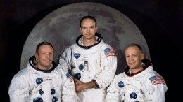 НАСА вчесть 50-летия высадки наЛуну опубликовало снимки с«Аполлона»— фото
