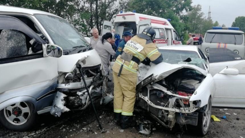 Девять человек пострадали вДТП вАмурской области