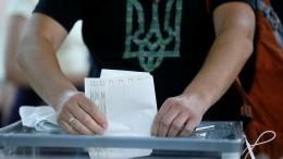 Явка навыборах вВерховную раду составила более36%