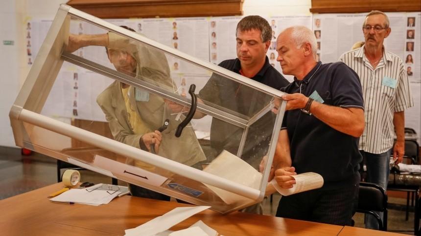 Сейф-кастрюля исъеденные бланки: как наУкраине прошли выборы вРаду