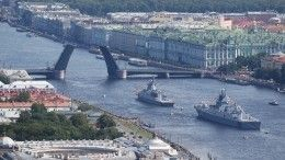 Как прошла первая сводная репетиция парада коДню ВМФ— репортаж