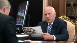 Глава «Ростеха» рассказал Путину оперспективах развития госкорпорации