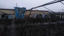 Работники лагеря, где при пожаре погиб ребенок, поздно вызвали спасателей