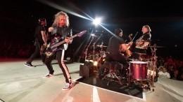 Стало известно, почему Metallica решила исполнить Цоя наконцерте вМоскве
