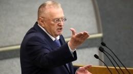 Жириновский рассказал, когда Украина может войти всостав России
