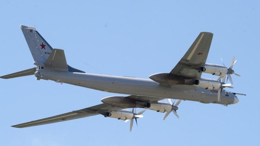 ВМинобороны РФсообщили опрепятствии корейских истребителей полету Ту-95МС