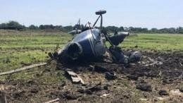 Вертолет Ми-2 совершил жесткую посадку вАдыгее— фото