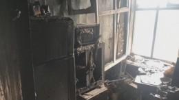 Двое детей идвое взрослых погибли вогне вПсковской области