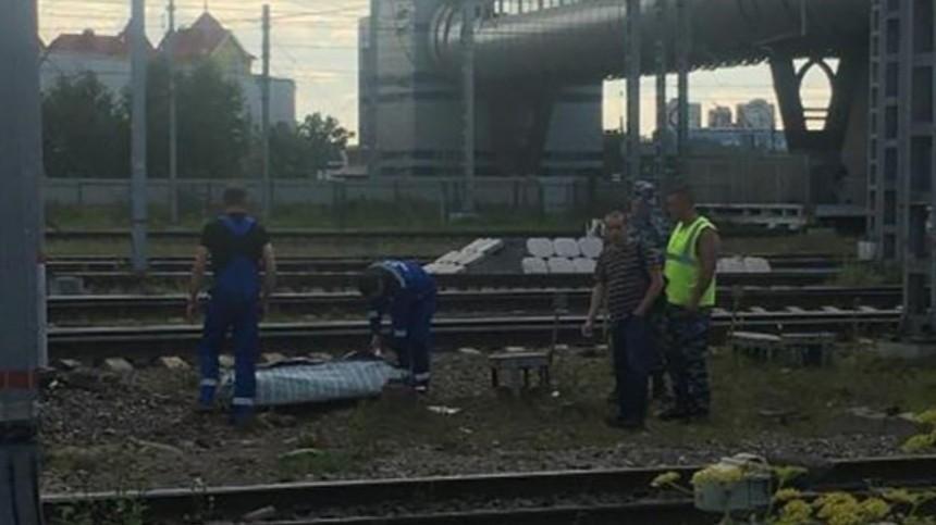 Напетербургской ж/д станции нашли обезглавленное тело— фото
