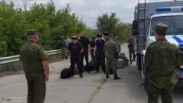 ЛНР передала Киеву 64 заключенных, осужденных еще доконфликта вДонбассе— фото
