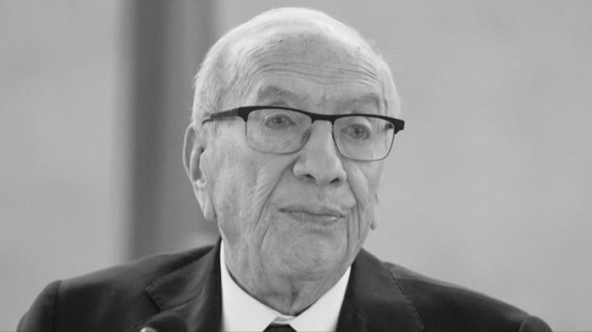 Скончался президент Туниса Беджи Каид Ас-Себси