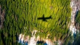 Самолет готовится каварийной посадке ваэропорту Симферополя