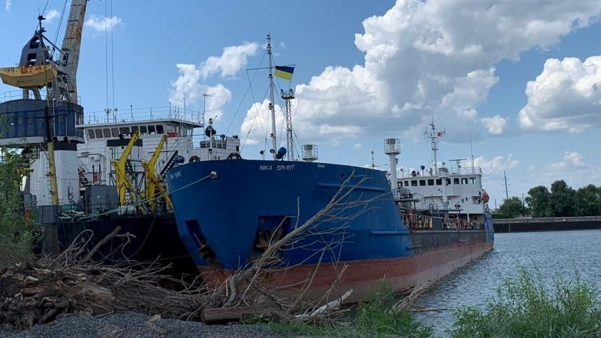 Вкомпании задержанного СБУ танкера рассказали осудьбе российского экипажа