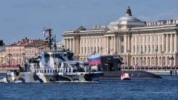 ВДень ВМФ вПетербурге разведут пять мостов