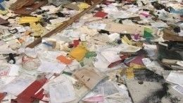 Выкинутые насвалку вПетербурге документы могли принадлежать «финансовой прачечной»— репортаж