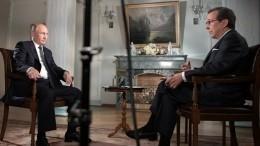 Интервью Fox News сПутиным номинировано на«Эмми»