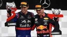 Даниил Квят занял третье место наГран-при Германии «Формулы-1»— видео