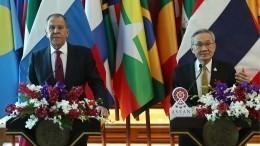 Видео: Сергей Лавров провел переговоры сглавой МИД Таиланда