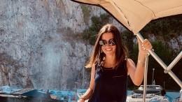 «Девочка-сорванец»: Ксения Бородина поделилась романтическим фото смужем