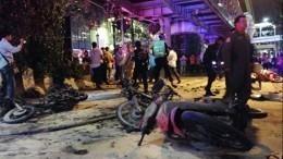 Видео: ВБангкоке прогремела серия взрывов