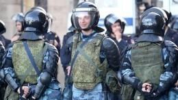 Полиция задержала еще пятерых участников беспорядков намитинге вМоскве 27июля