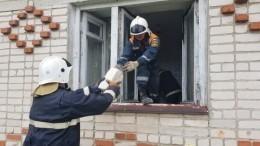 Видео: Стены дома под Владимиром рухнули после взрыва газа