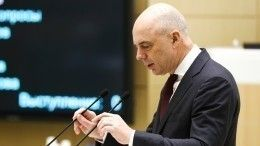 Глава Минфина РФрассказал ореакции экономики России насанкции США