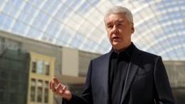 «Хотелось втянуть вбеспорядки»: Собянин оборганизаторах незаконных акций вМоскве