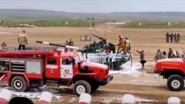 Видео: иранский танк загорелся натанковом биатлоне вАлабино