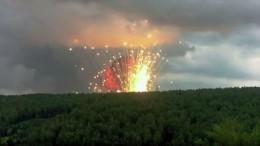 Один человек погиб врезультате взрывов снарядов под Красноярском