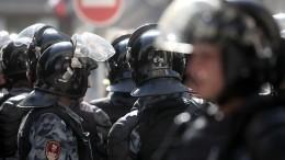 Фигурант дела омассовых беспорядках вМоскве объявлен врозыск