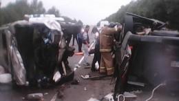 Семь человек погибли ваварии смикроавтобусом илегковушкой под Рязанью