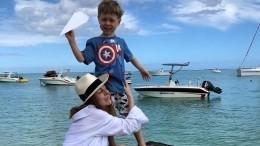 «Маленький вымогатель»: Подольская рассказала оплохой привычке сына