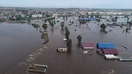 Российские регионы продолжают уходить под воду— видео
