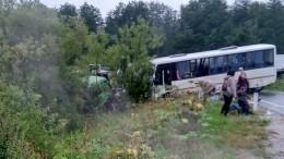 Двенадцать человек пострадали ваварии савтобусом наСахалине