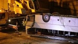 Смертельная авария савтобусом под Новороссийском: хроника событий— видео