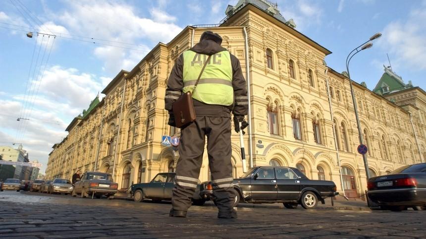 Вцентре Москвы ограничили движение транспорта из-за согласованной акции