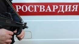 ВТюмени мужчина вовремя задержания начал стрелять всотрудников Росгвардии