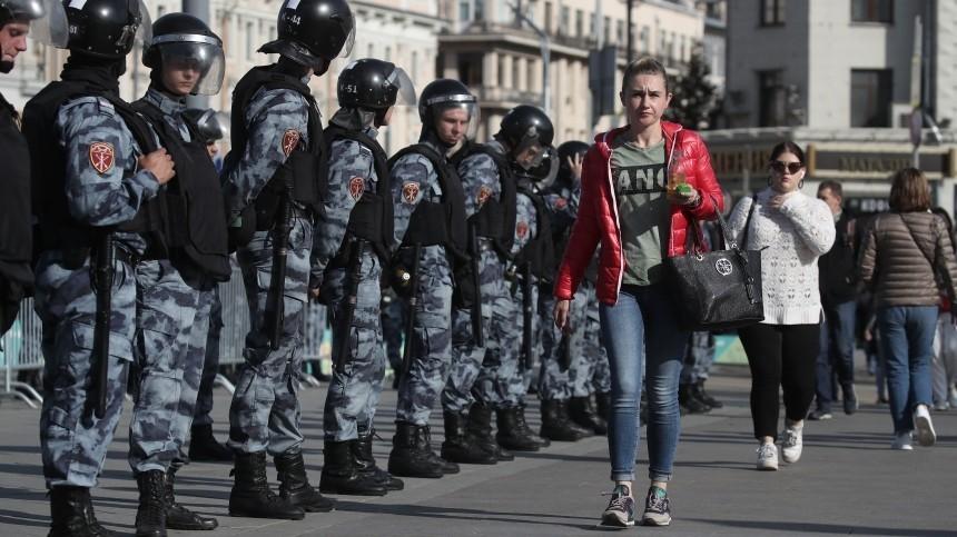 Организаторы акции вМоскве предупредили оготовящихся провокациях