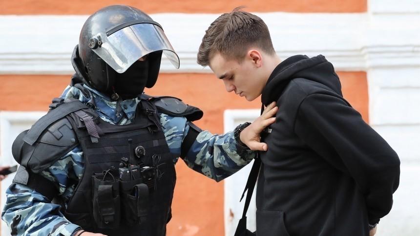 ВМоскве задержаны 136 человек вовремя несогласованной акции