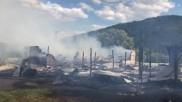 Пожар произошел вдетском лагере вБашкирии