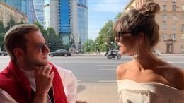 Оболенцева иГигинеишвили делятся кадрами изсвадебного путешествия— видео