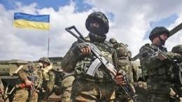 Украинским снайперам разрешили стрелять вмирных жителей Донбасса
