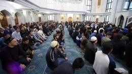 Видео: Мусульмане отмечают Курбан-байрам